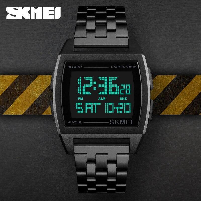 Skmei軍事スポーツ腕時計ledデジタル電子時計防水メンズ腕時計トップブランドの高級男性時計レロジオmasculino_画像2