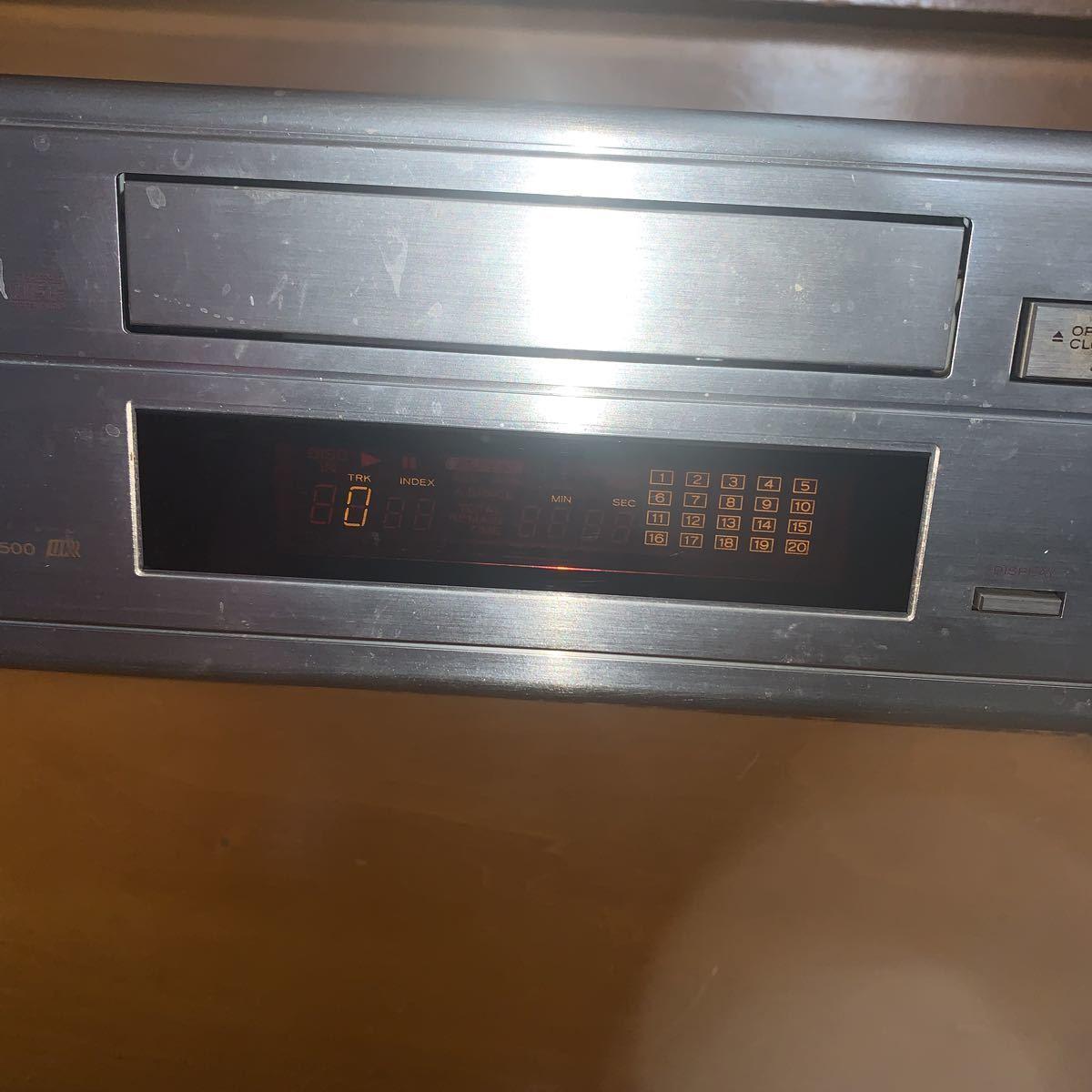 TEAC CDーZ500 コンパクトディスクプレーヤー_画像3