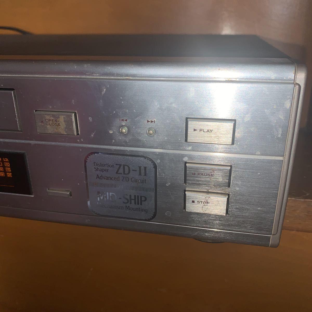 TEAC CDーZ500 コンパクトディスクプレーヤー_画像4
