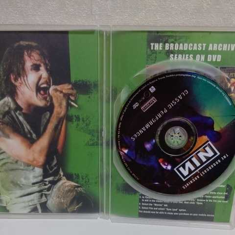 NINE INCH NAILS/The Broadcast Archives 輸入盤DVD ナイン・インチ・ネイルズ_画像4