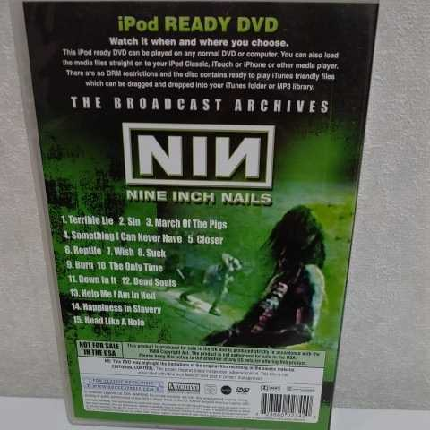 NINE INCH NAILS/The Broadcast Archives 輸入盤DVD ナイン・インチ・ネイルズ_画像2