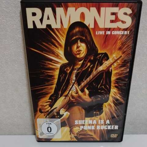 RAMONES/Live in Concert Sheena is a Punk Rocker 輸入盤DVD ラモーンズ_画像1