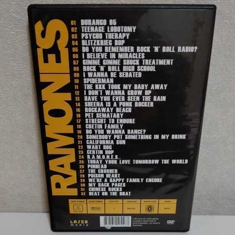 RAMONES/Live in Concert Sheena is a Punk Rocker 輸入盤DVD ラモーンズ_画像2