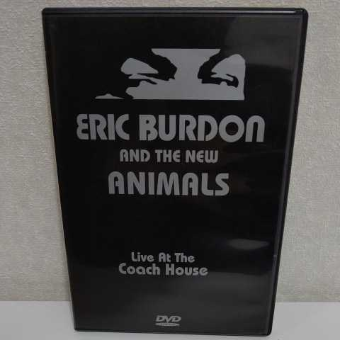 ERIC BURDON and The New ANIMALS/Live at the Coach House 輸入盤DVD エリック・バードン アニマルズ_画像1