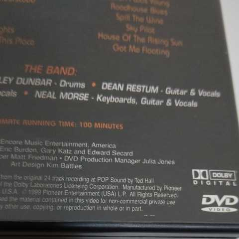 ERIC BURDON and The New ANIMALS/Live at the Coach House 輸入盤DVD エリック・バードン アニマルズ_画像5