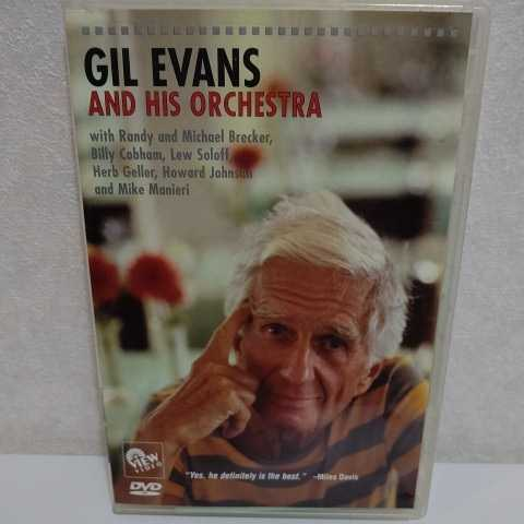 GIL EVANS and His Orchestra 輸入盤DVD ギル・エヴァンス_画像1