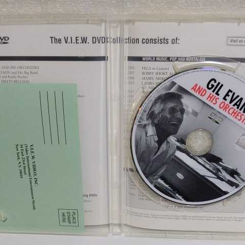 GIL EVANS and His Orchestra 輸入盤DVD ギル・エヴァンス_画像4