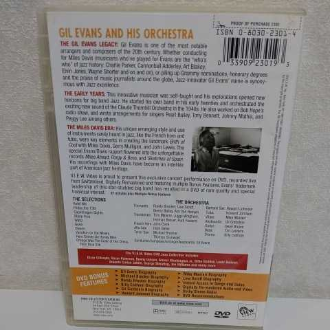 GIL EVANS and His Orchestra 輸入盤DVD ギル・エヴァンス_画像2