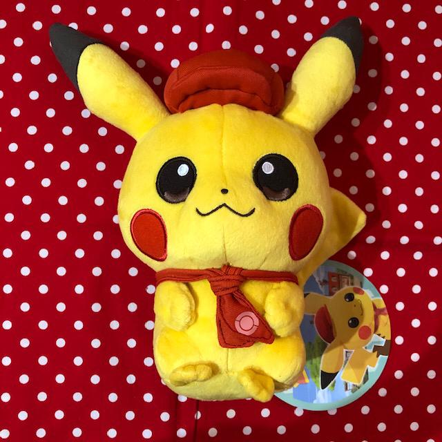 ポケモンセンター 限定 オリジナル ぬいぐるみ Pokemon Caf Mix ピカチュウ カフェ ポケットモンスター_画像1