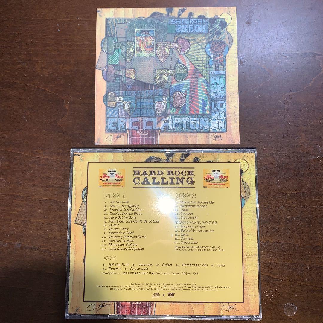 Mid Valley 2CD+1DVD Eric Clapton Hard Rock Calling★エリック・クラプトン★Cream★Derek & The Dominos