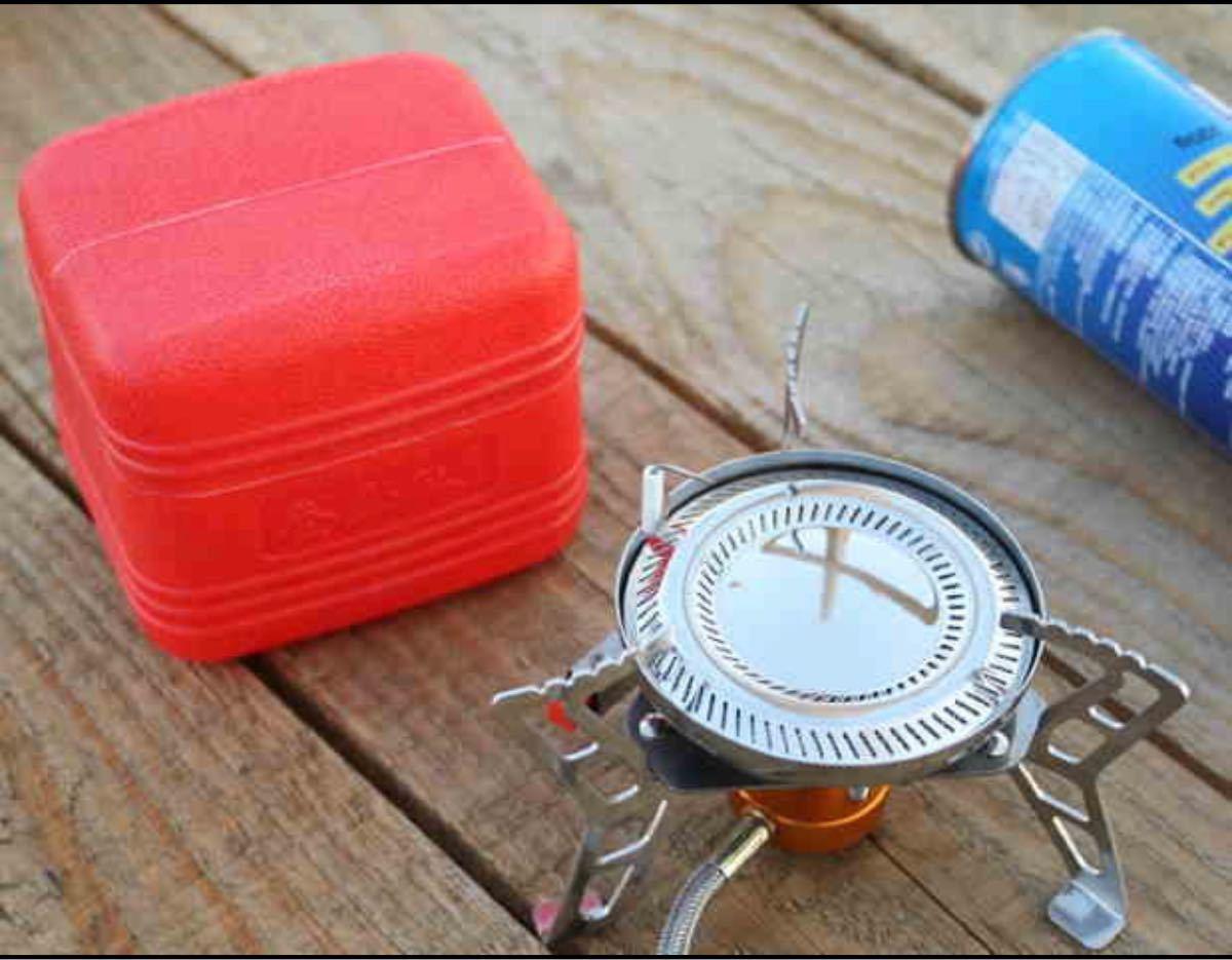 シングルバーナー CD缶 小型 ガスバーナー