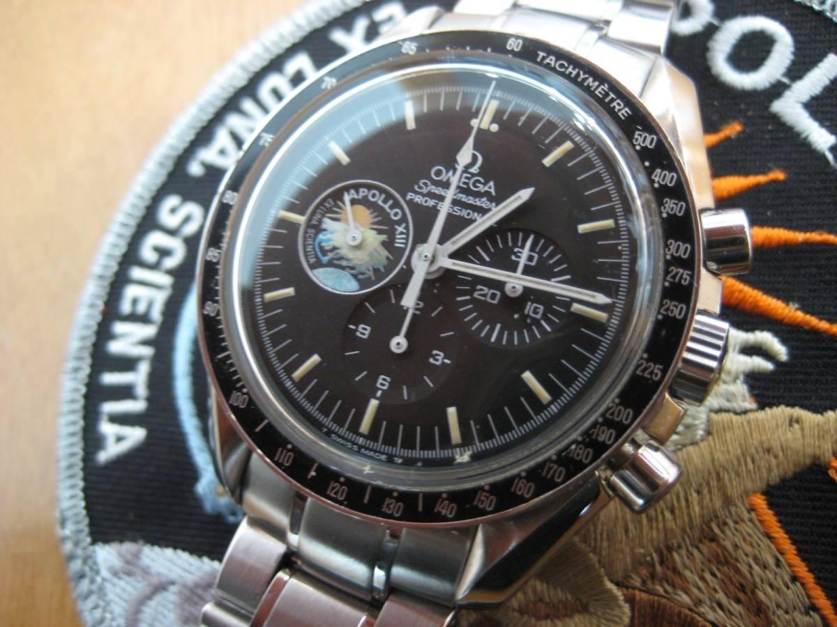 オメガ スピードマスタープロフェッショナル アポロ13号限定_画像4
