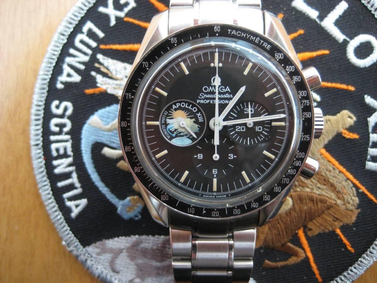 オメガ スピードマスタープロフェッショナル アポロ13号限定_画像3