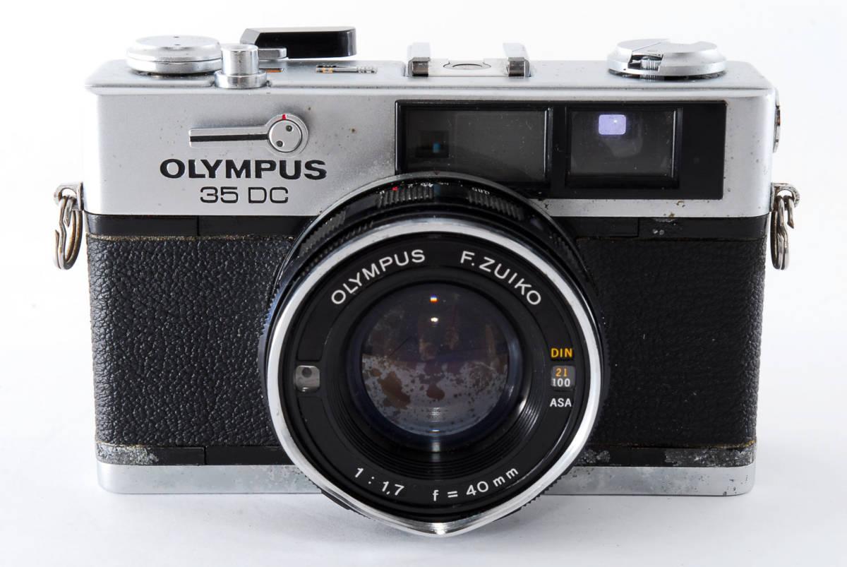 送料無料★OLYMPUSフィルムカメラ★オリンパス OLYMPUS 35DC 現状品_画像2