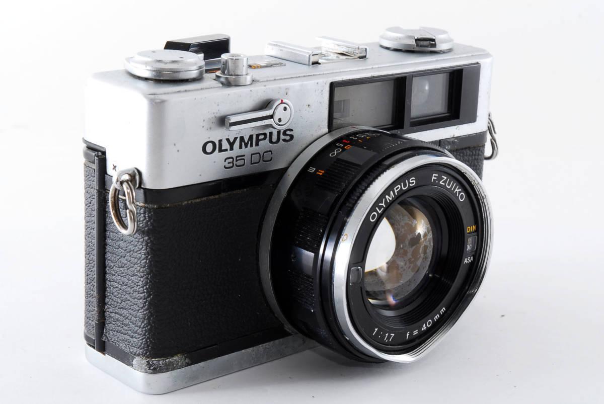 送料無料★OLYMPUSフィルムカメラ★オリンパス OLYMPUS 35DC 現状品_画像3