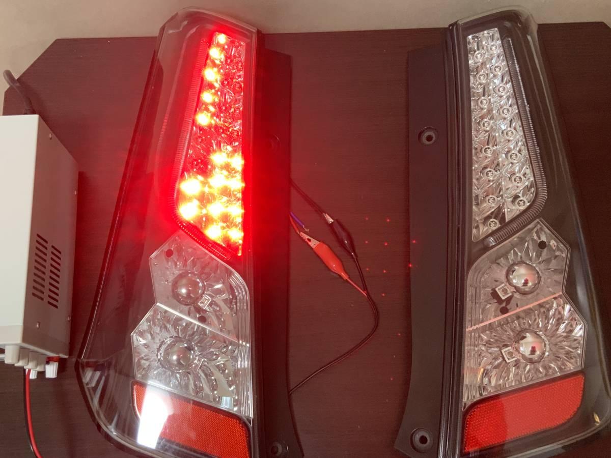 スズキ ワゴンR MH23S LEDテールランプ ジャンク サンダーテール_画像5