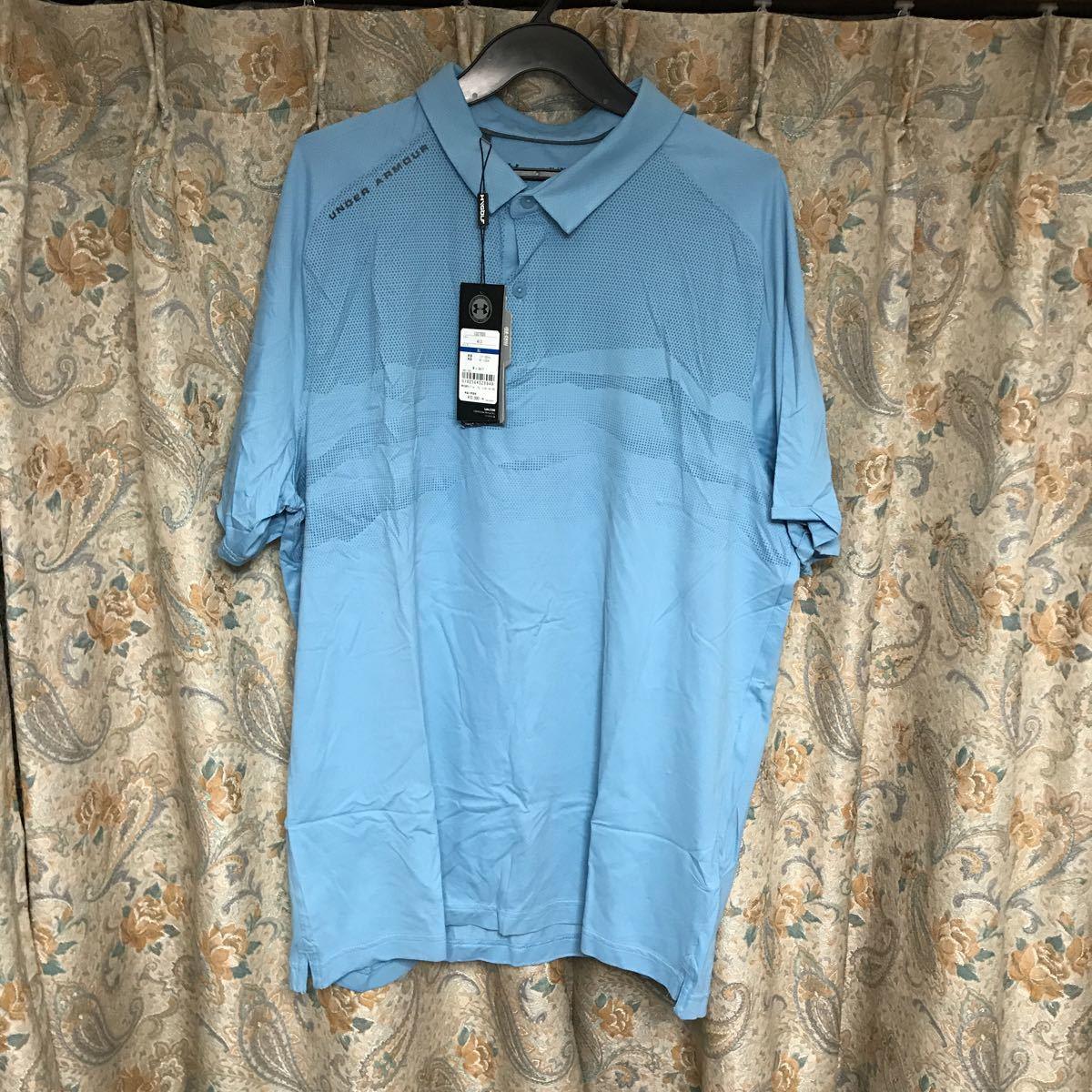 新品アンダーアーマー 半袖ポロシャツ XLサイズ 11000円→5000円 ゴルフ ISO CHILL メンズ