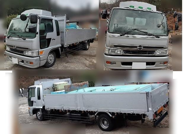 「山口発 活魚運搬車 日野レンジャー H12年式 KL-FE1JMDA *3-2」の画像2