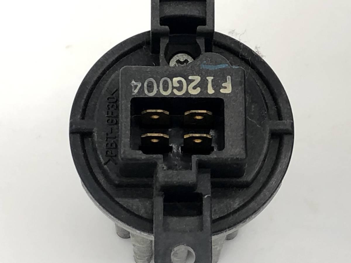 _b50486 ダイハツ ムーヴ ムーブ カスタム R CBA-L150S ブロアモーター ブロワ ヒーターファン レジスター付き 272700-0190 L152S L160S_画像6