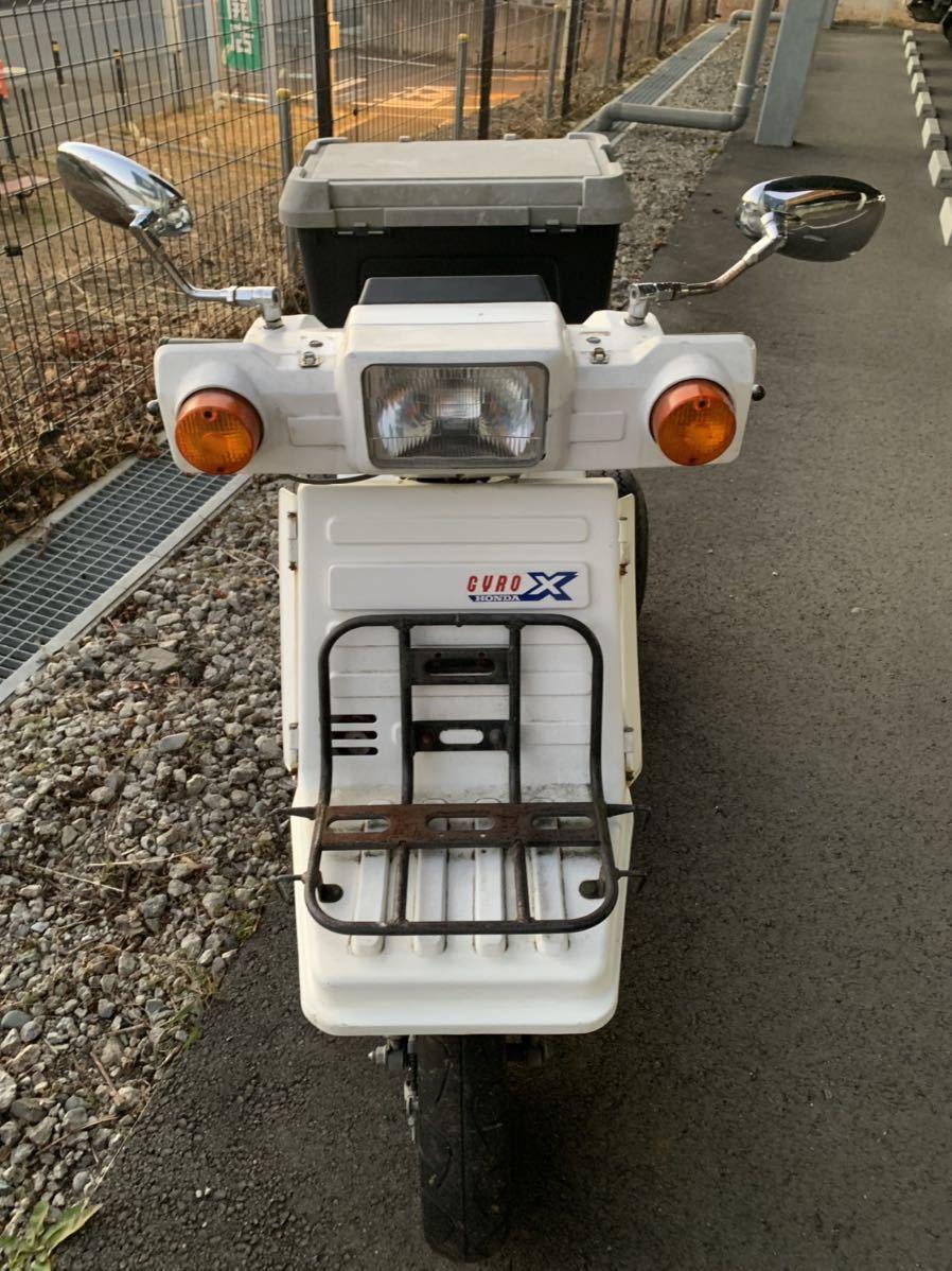 「 ホンダ ジャイロX 2st 中期 部品取り ミニカー マロッシ おまけ付き   神奈川県」の画像3
