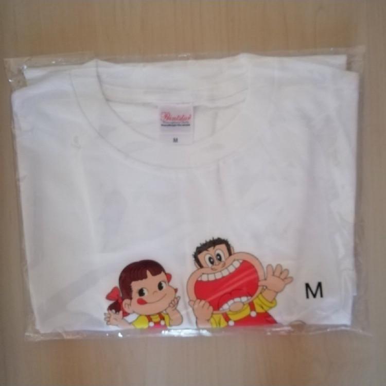 北海道限定★ペコちゃん・ガリガリ君★コラボTシャツ(M)