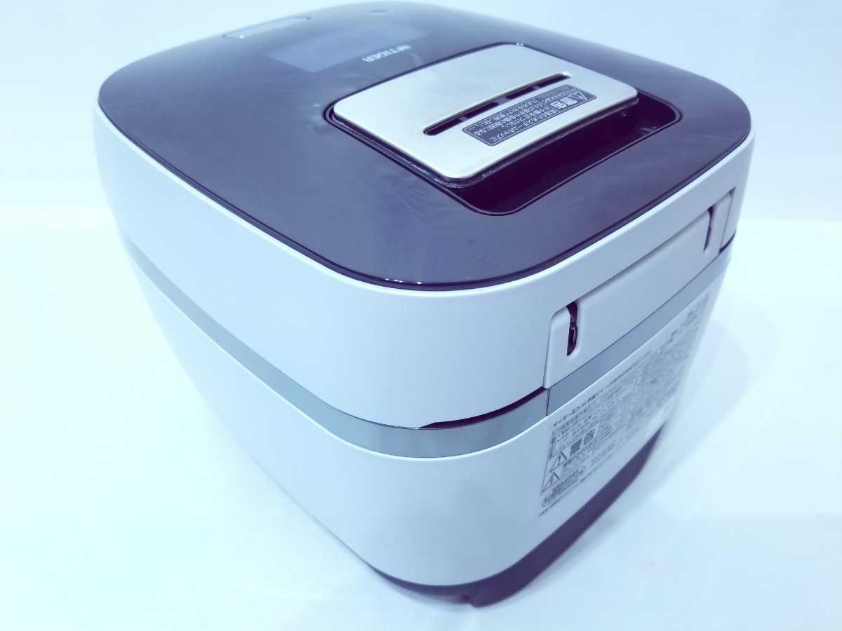 全額返金保証付 タイガー 土鍋圧力IHジャー炊飯器(5.5合炊き)フロストホワイトTIGER THE炊きたて GRAND X(グランエックス)JPX-102X-WF