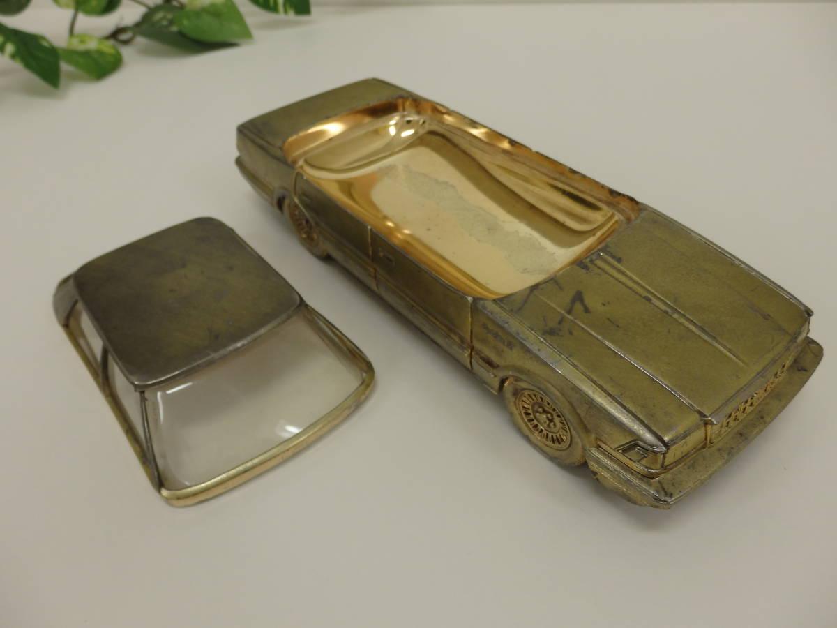 L472 80s 昭和レトロ 当時物 ★ 7代目 トヨタ クラウン RS シガレットケース たばこケース 置物!いつかは クラウン ヴィンテージ品!_いつかはクラウンCMでおなじみの人気モデル