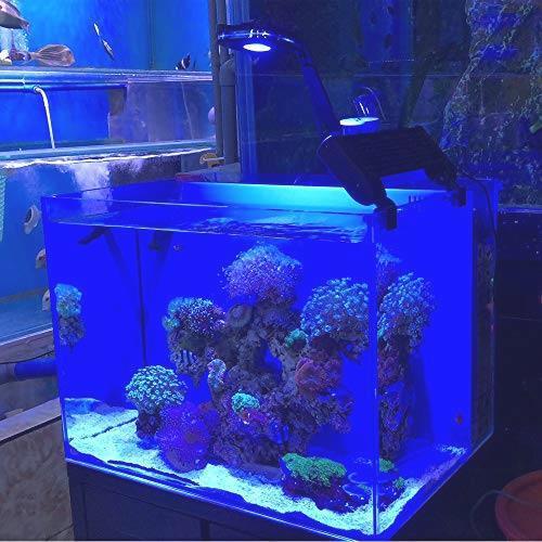 【新品・送料無料】 Lominie LED 水族館 ライト ナノ30W 魚 タンク ライトフル スペクトル 調光 対応サンゴ 海水 ランプ ブラケット 付_画像6
