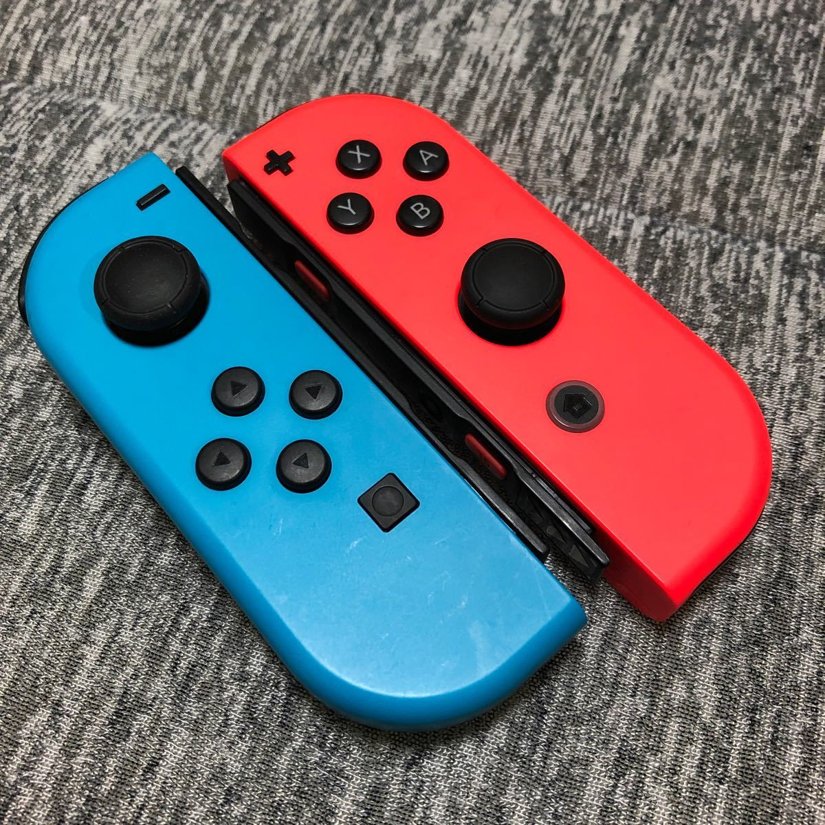 Nintendo Switch Joy-Con ジョイコン ニンテンドースイッチ ネオンレッド ネオンブルー 動作確認済み