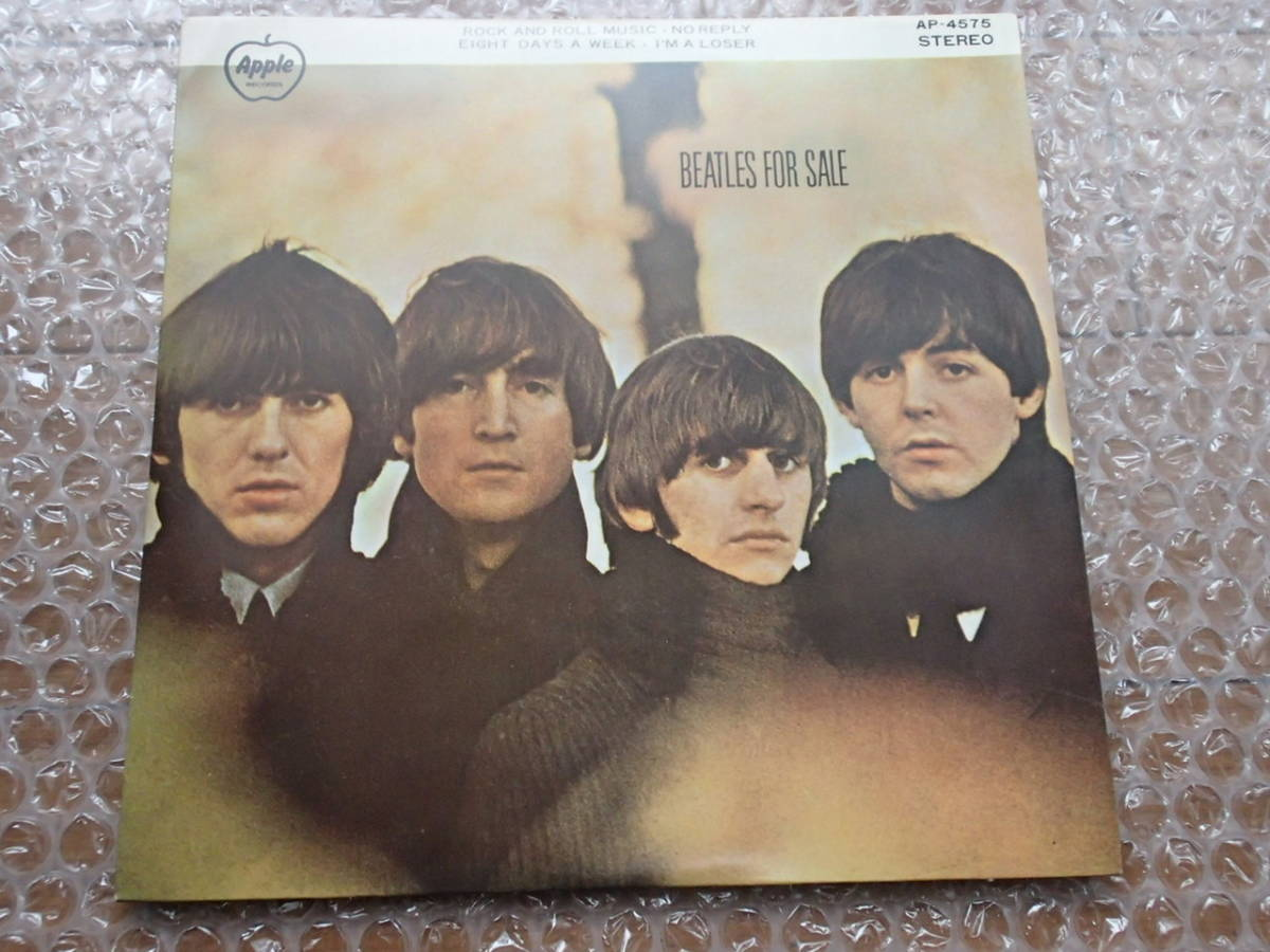 ザ・ビートルズ 4曲入りシングル Beatles For Sale 東芝 AP-4575 The Beatles