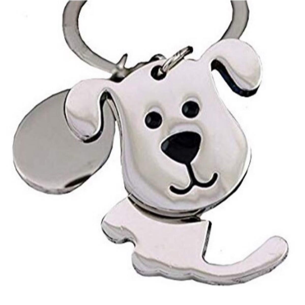 キーホルダーキーリング(犬)