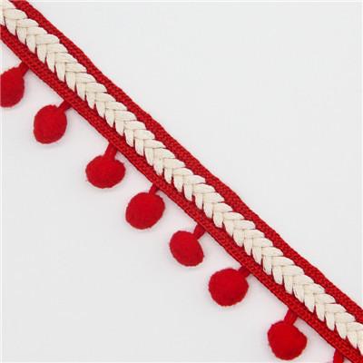 【送料無料】ポンポン リボン クラフト DIY 結婚式 装飾 縫製 布 アクセサリー 3.5センチ Diy 手作り ポリエス_画像4