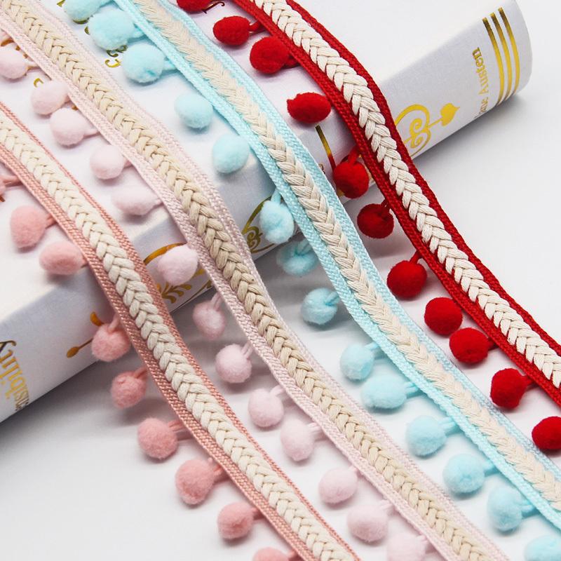 【送料無料】ポンポン リボン クラフト DIY 結婚式 装飾 縫製 布 アクセサリー 3.5センチ Diy 手作り ポリエス_画像7