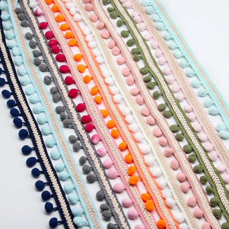 【送料無料】ポンポン リボン クラフト DIY 結婚式 装飾 縫製 布 アクセサリー 3.5センチ Diy 手作り ポリエス_画像8