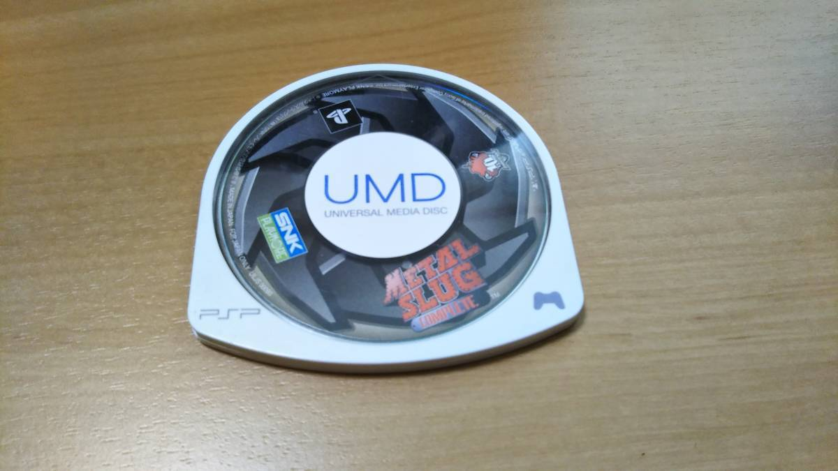 PSP ソフト メタルスラッグ コンプリート 動作確認済 ソフトのみ