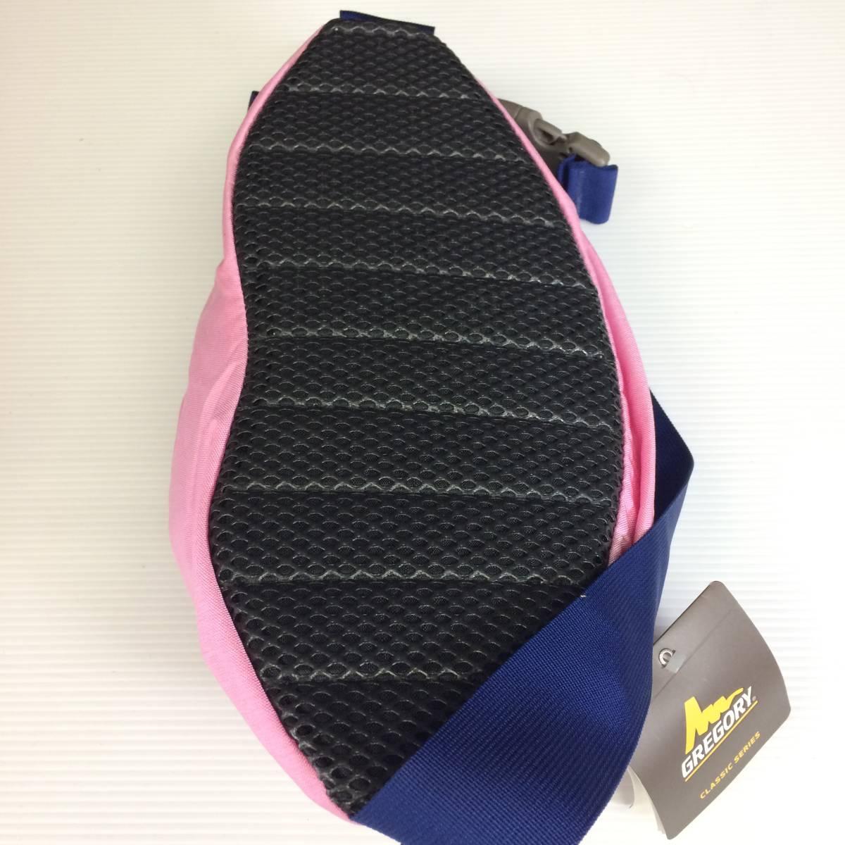 デッドストック USA製 グレゴリー テールメイトS 薄ピンク ボディバッグ