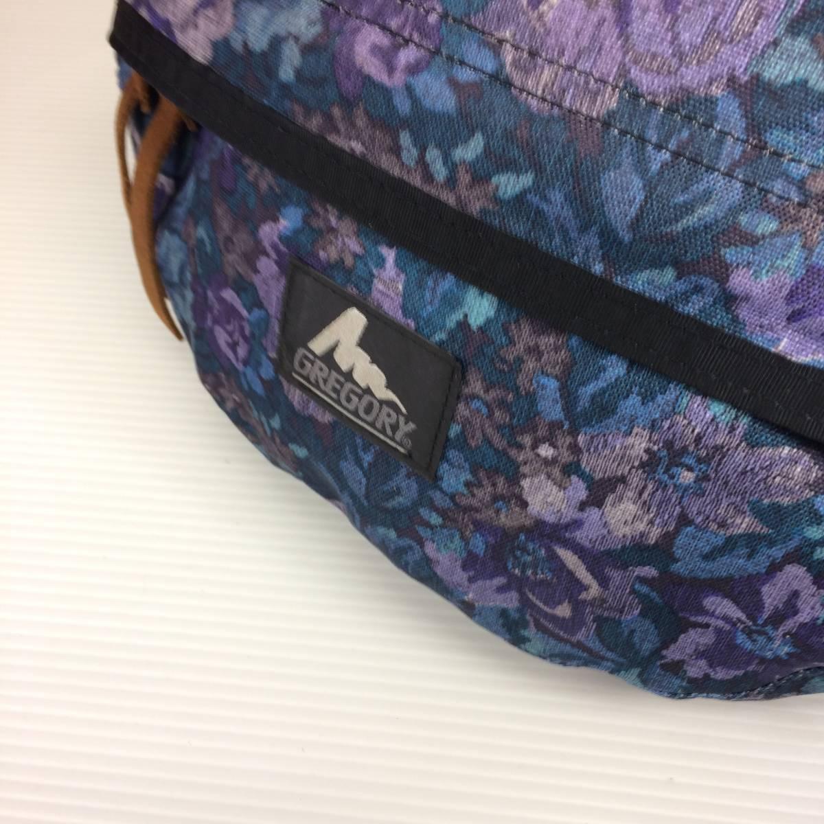 USA製 旧タグ グレゴリー テールメイトS 花柄 ロイヤルタペストリー ボディバッグ