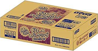 ダイドードリンコ ぷるっシュ!! ゼリー×スパークリング 味わいグレープ 280g ×24本_画像3