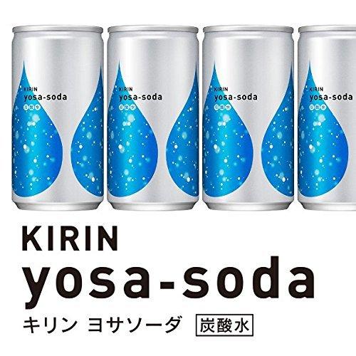 キリン ヨサソーダ 無糖・炭酸水 缶 (190ml×20本)_画像6