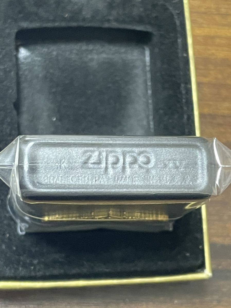 zippo PEARL HARBOR BVI ゴールドメタル 両面デザイン 1999年製 映画 パールハーバー 年代物 シルバーインナー 2001年製 専用ケース 保証書