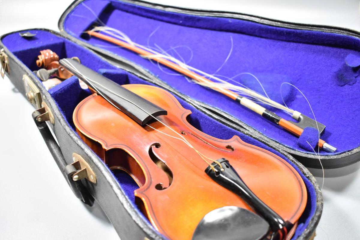 バイオリン / 鈴木バイオリン / サイズ1/8 / ケース付き / 弦楽器 / SUZUKI / 1969年 / No.103_画像1