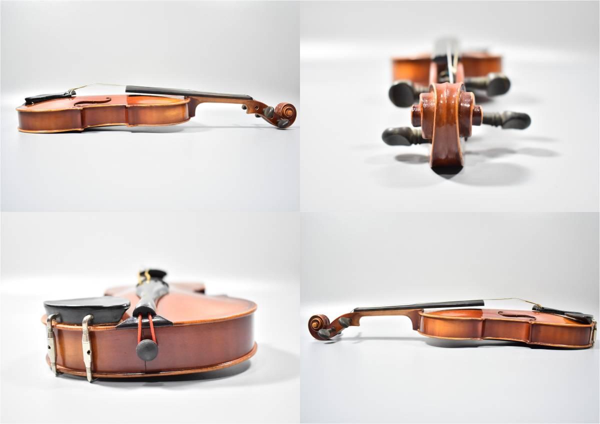 バイオリン / 鈴木バイオリン / サイズ1/8 / ケース付き / 弦楽器 / SUZUKI / 1969年 / No.103_画像4