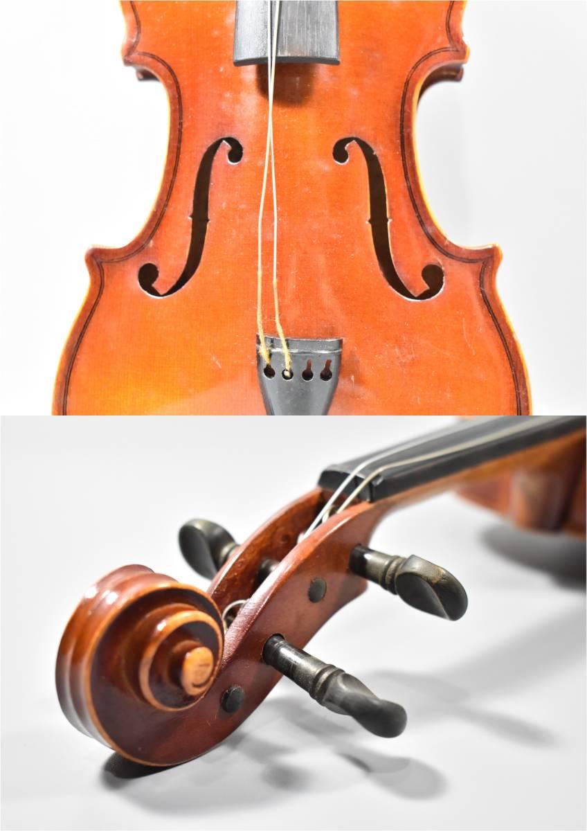 バイオリン / 鈴木バイオリン / サイズ1/8 / ケース付き / 弦楽器 / SUZUKI / 1969年 / No.103_画像5