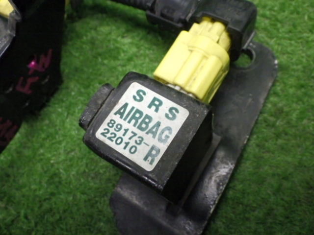 トヨタ GX105 チェイサー 純品 エアバック センサー 2点セット 201223064_画像3