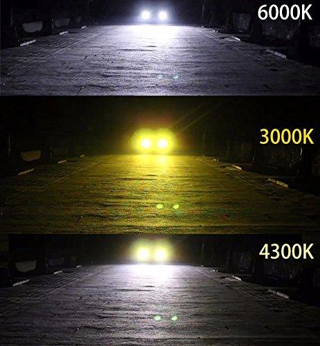 ☆超人気オススメ☆HB4(9006) LEDフォグランプ HB4 9006 3色温度切替 車用 一体式 DC12V-POOPEE_画像6