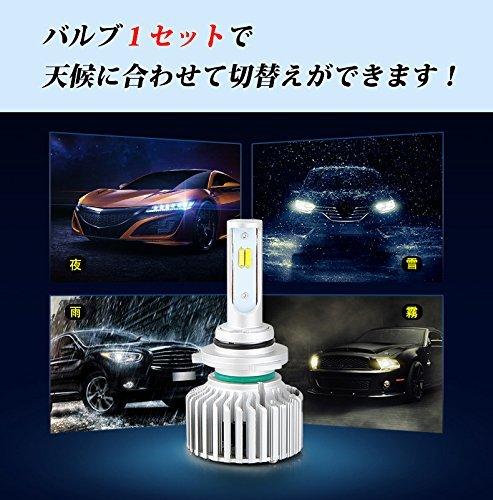 ☆超人気オススメ☆HB4(9006) LEDフォグランプ HB4 9006 3色温度切替 車用 一体式 DC12V-POOPEE_画像7
