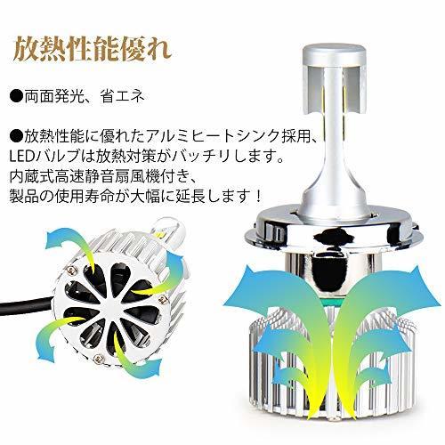 ☆超人気オススメ☆HB4(9006) LEDフォグランプ HB4 9006 3色温度切替 車用 一体式 DC12V-POOPEE_画像4