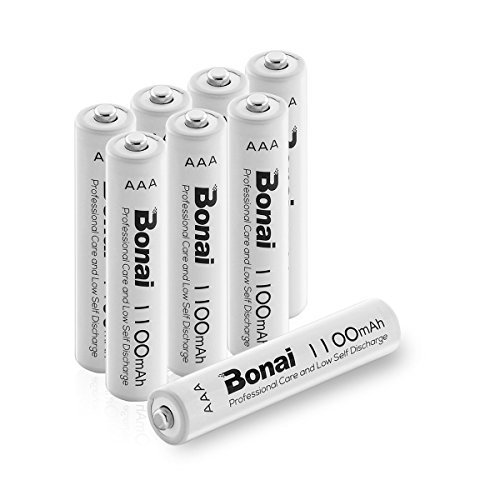 ☆超人気オススメ☆8個パック 単4充電池 8本 BONAI 単4形 充電式電池 ニッケル水素電池 8個パックCEマーキング取得 _画像1