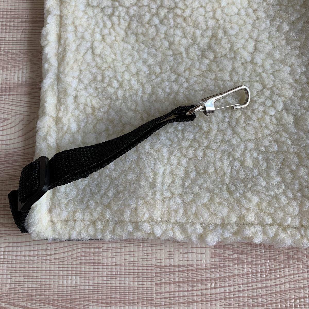 新品 ニャンモック Lサイズ シンプル グレー 格子柄 猫用ハンモック ケージ 小動物 ケージ ハンモック ベッド ペット