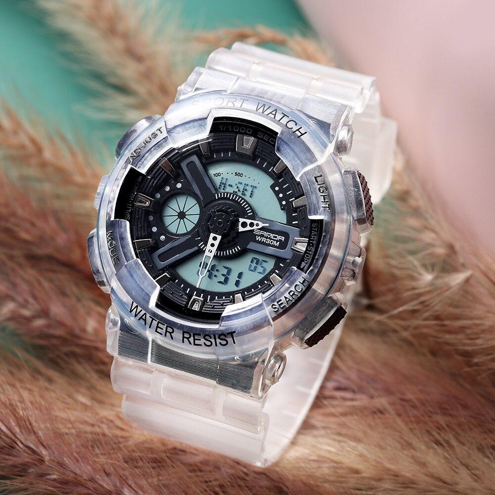 三田298グラムスタイルメンズ腕時計トップブランドの軍事スポーツ腕時計男性時計のショック防水クォーツ時計レロジオmasculino_画像1